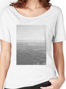 Relax - Ocean Women's Relaxed Fit T-Shirt