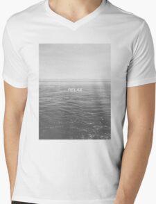 Relax - Ocean Mens V-Neck T-Shirt