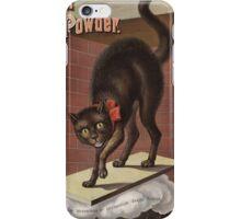 Unknown - Advertisement For International Baking Powder.. Cat portrait: cute cat, cook,  kitchen,  cafe,  restaurant,  dough,  cake,  buns,  biscuit, dessert, sweet iPhone Case/Skin