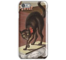 Unknown - Advertisement For International Baking Powder.. Cat portrait: cute cat, cook,   kitchen,  cafe,   restaurant,   dough,   cake,   buns,   biscuit, dessert, sweet iPhone Case/Skin