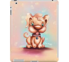 Cute Colorful Puppy Dog iPad Case/Skin