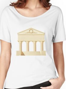Antique building  Women's Relaxed Fit T-Shirt