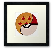 Pokemon DragonBall Fusion  Framed Print
