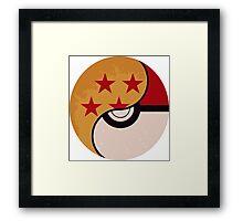 Pokemon DragonBall Fusion  Framed Print