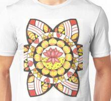 Inspirational Lotus Chakra Mandala Unisex T-Shirt