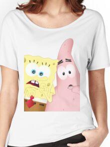 Spongebob & Patrick Women's Relaxed Fit T-Shirt
