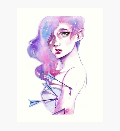 Arrow Girl Art Print
