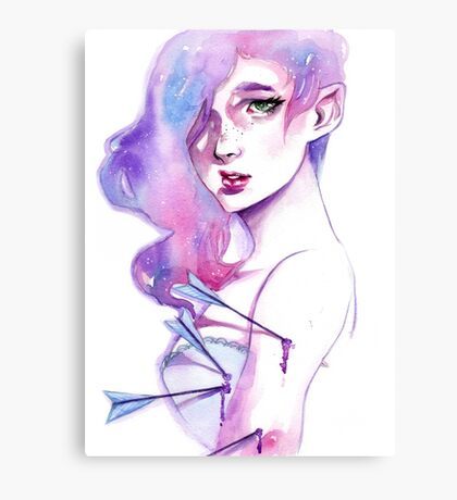 Arrow Girl Canvas Print