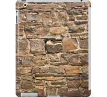 Old Welsh Slate Wall - Castle Ruins iPad Case/Skin