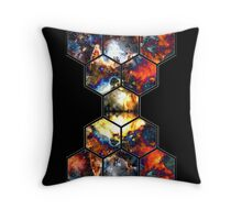 Intergalactic Aside Throw Pillow