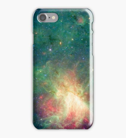 abbreviated image, Omega Nebula, space, astrophysics, astronomy iPhone Case/Skin