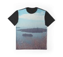 Santorini panorama 8 Graphic T-Shirt
