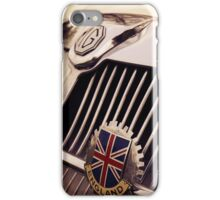 mg car, british flag iPhone Case/Skin