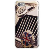 mg car, british flag iPhone Case/Skin