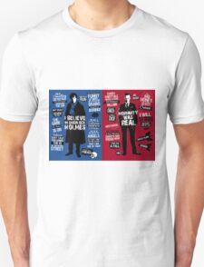 sherlock and moriaty Unisex T-Shirt