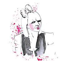 Lady Gaga  Photographic Print