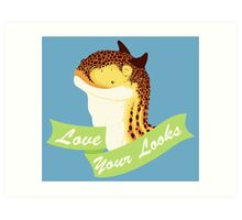 Love Your Looks Carno Art Print