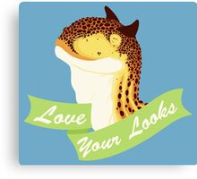 Love Your Looks Carno Canvas Print