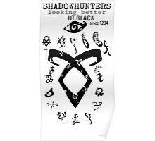 Shadowhunters Runes  Poster