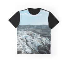 Santorini panorama 9 Graphic T-Shirt