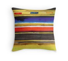 Indian Water Colours Throw Pillow