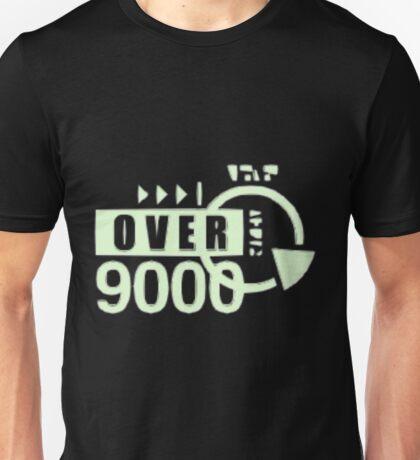 dragonball z over 9000 Unisex T-Shirt