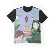 Porter Robinson Worlds Collage Graphic T-Shirt