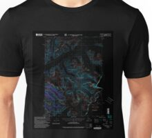 USGS TOPO Map Alaska AK Sumdum A-2 359349 2000 63360 Inverted Unisex T-Shirt
