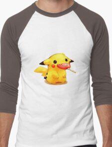 Pokemon Pikachu Men's Baseball ¾ T-Shirt