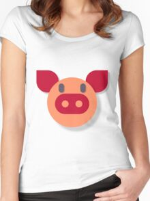 The Most Pure Pig Women's Fitted Scoop T-Shirt