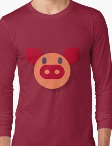 The Most Pure Pig Long Sleeve T-Shirt