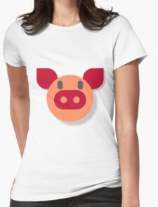 The Most Pure Pig Womens Fitted T-Shirt