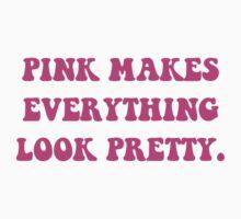 Pink Pretty Kids Tee