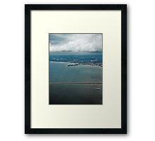 High Above Tampa Bay Framed Print
