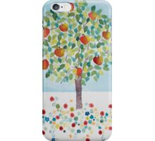 Summer Apple Tree iPhone Case/Skin