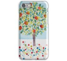 Summer Apple Tree iPhone Case/Skin