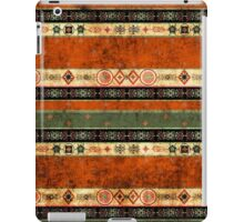 Ethnic boho grunge pattern. Tribal old art print. Colorful background. iPad Case/Skin