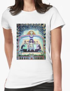 Angel of Day and Night Womens Fitted T-Shirt
