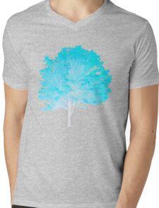 Blue Tree Mens V-Neck T-Shirt