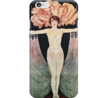 Unknown - Pola Nery Poster. Dancer painting: dance, ballet, dancing woman, ballerina, tutu, femine, women, dancer, disco, dancers, girls iPhone Case/Skin