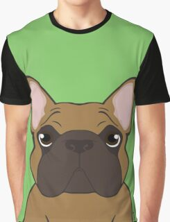 Seriously Frenchie - Fawn  Graphic T-Shirt