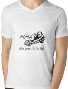 """""""Most Sports Use One Ball""""  Mens V-Neck T-Shirt"""