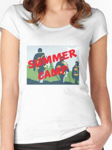 Summer Camp #5 Women's Fitted Scoop T-Shirt