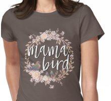 Mama bird Womens Fitted T-Shirt