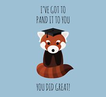 A Red Panda Graduation T-Shirt