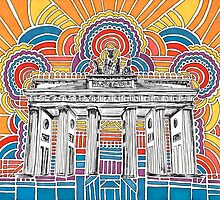 Brandenburger Tor Drawing Meditation by kpdesign