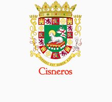 Cisneros Shield of Puerto Rico Unisex T-Shirt