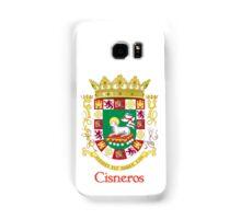 Cisneros Shield of Puerto Rico Samsung Galaxy Case/Skin