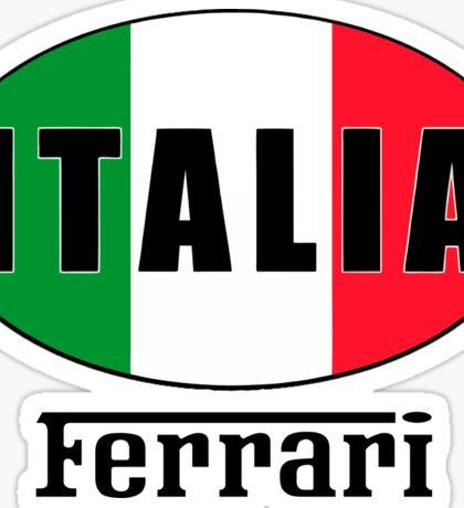 ITALIA FERRARI Sticker