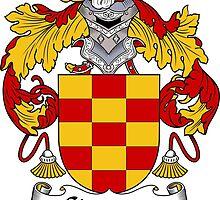 Cisneros Coat of Arms/Family Crest by William Martin